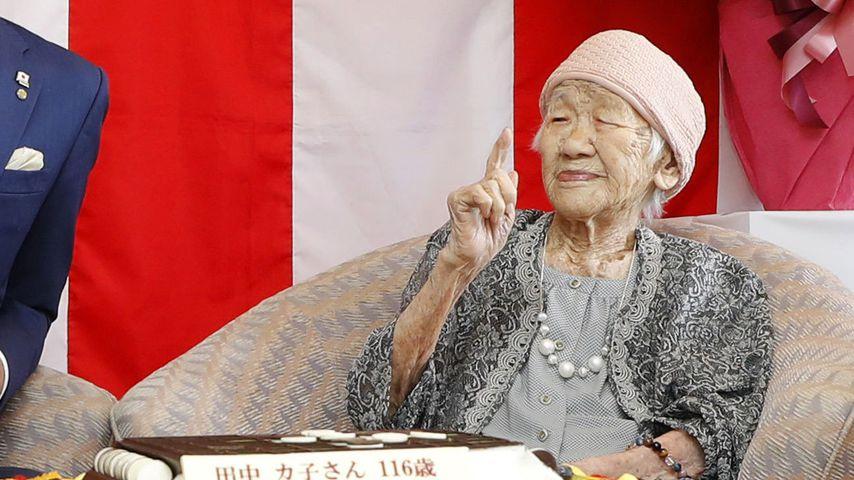 Kane Tanaka, älteste Frau der Welt