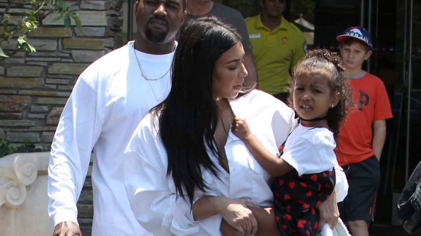 Kanye West, Kim Kardashian und North West