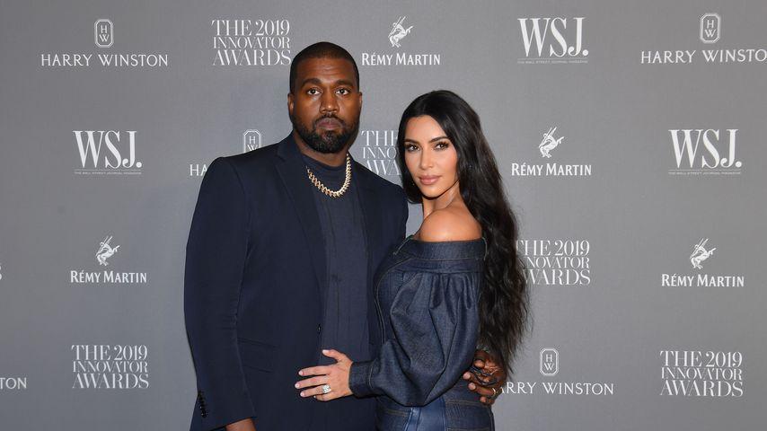 Kanye West und Kim Kardashian im November 2019 in New York
