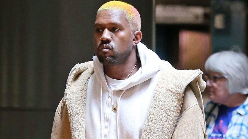 Neuer Look nach Xmas: Kanye West hat jetzt Pastell-Haare!