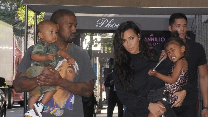 Kardashian-West-Familie unterwegs in New York