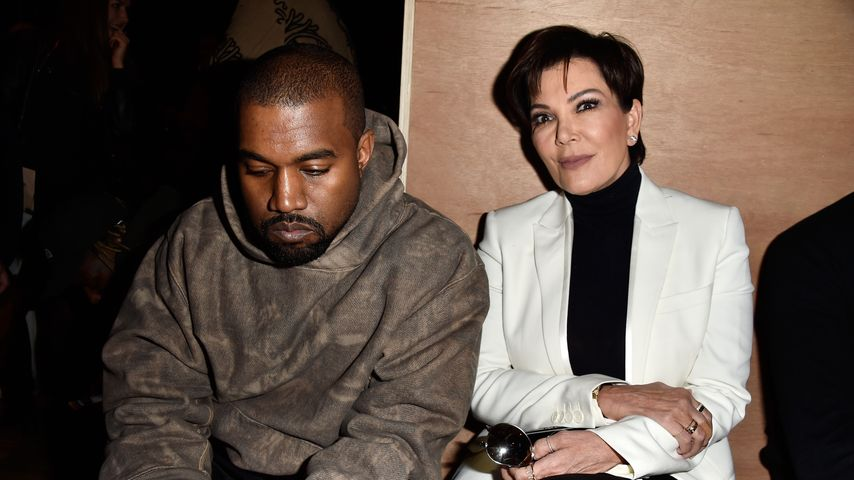 Kanye West und Kris Jenner im März 2016 bei der Fashion Week in Paris