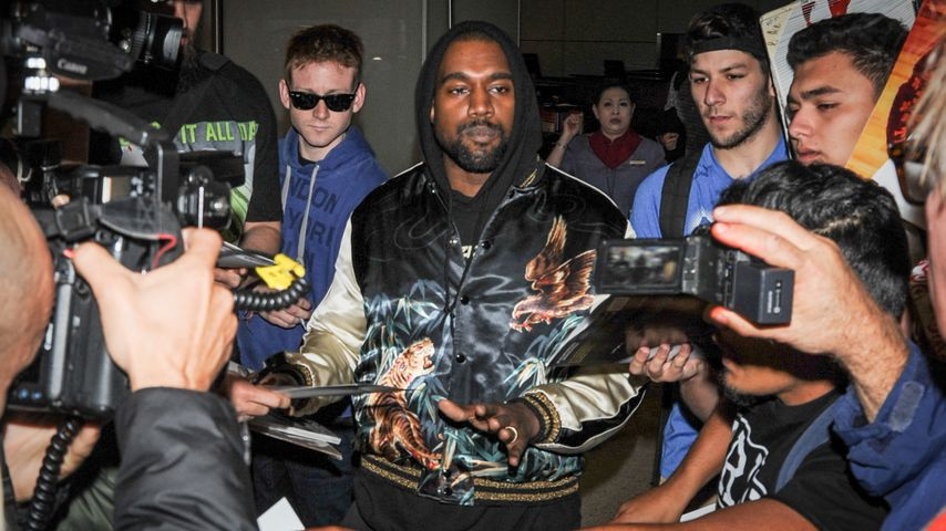Promi in Not: Paparazzo fährt Kanye West zur Mucki-Bude