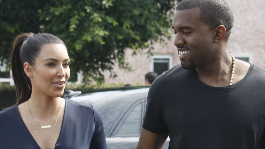 Überrumpelt? Kim wusste nichts von Kanyes Babyplan