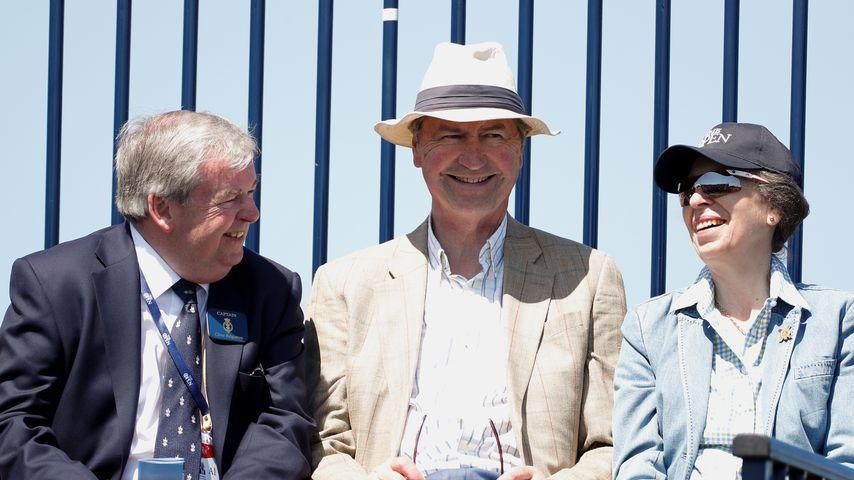 Clive Edginton, Timothy Laurence und Prinzessin Anne