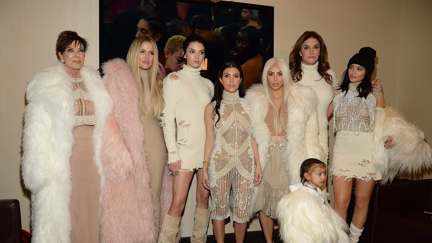 Kris, Khloe, Kendall, Kourtney, Kim, Caitlyn, Kylie und North West
