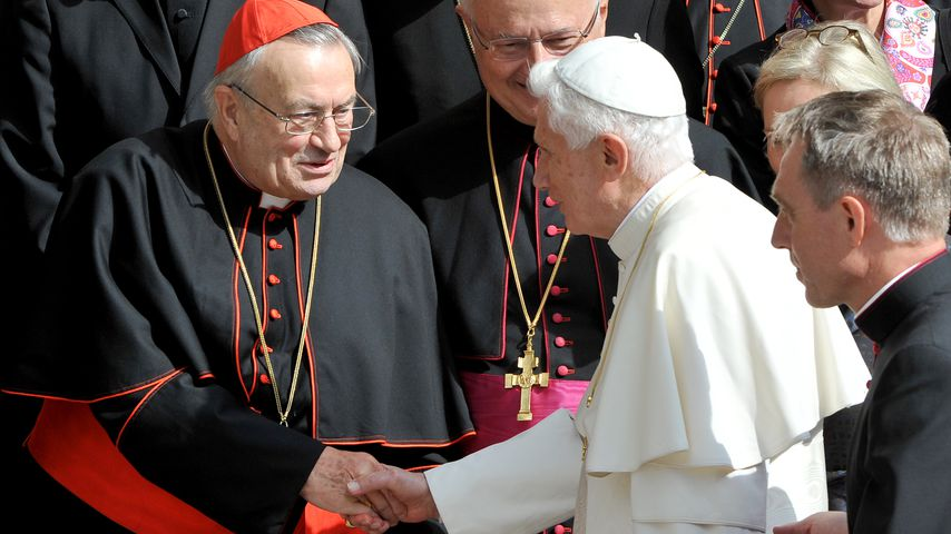 Kardinal Lehmann und Papst Benedikt XVI.