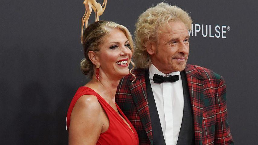 Karina Mroß und Thomas Gottschalk