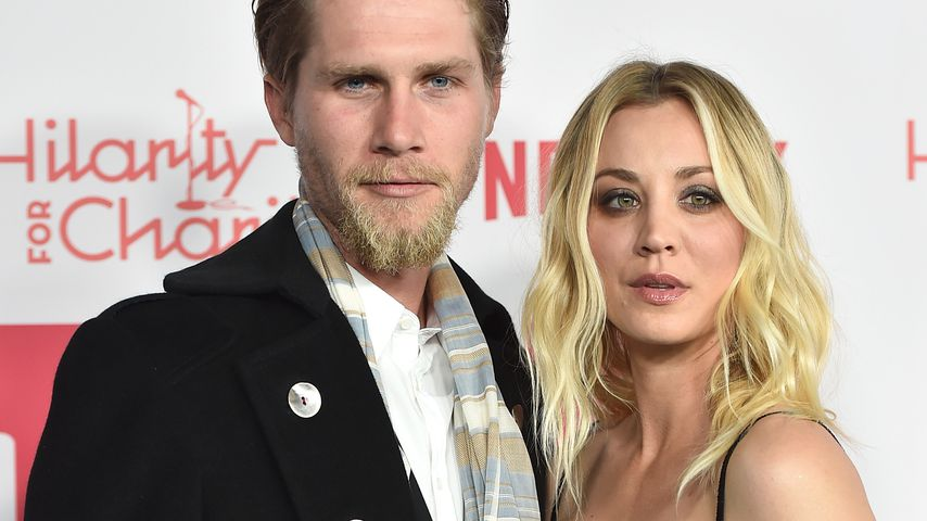 Big Bang-Party: Kaley Cuoco feiert mit Chuck Lorre