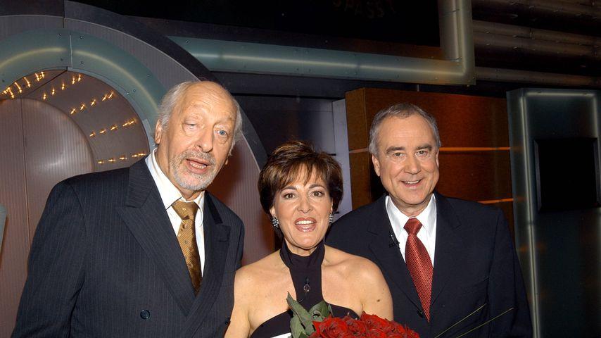 Karl Dall mit Paola und Kurt Felix, 2004