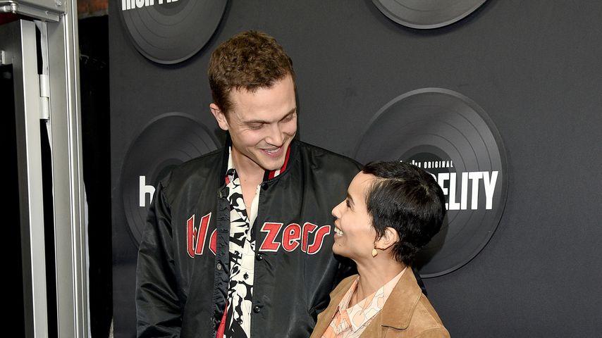 """Karl Glusman und Zoë Kravitz bei der """"High Fidelity""""-Premiere in New York im Februar 2020"""
