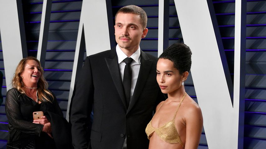 Karl Glusman und Zoe Kravitz bei der Vanity Fair Oscar Party 2019