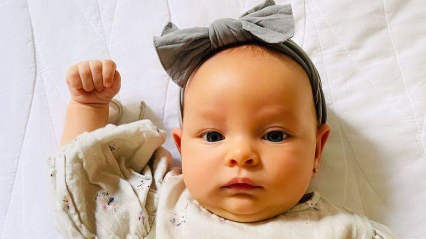 Karolina Kurkovas Tochter Luna Grace im Juli 2021