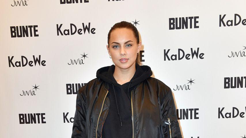 Kasia Lenhardt 2018 im KaDeWe
