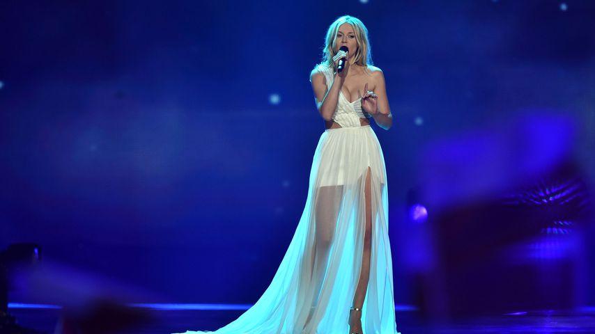 Kasia Moś beim Halbfinale des Eurovision Song Contest in Kiew