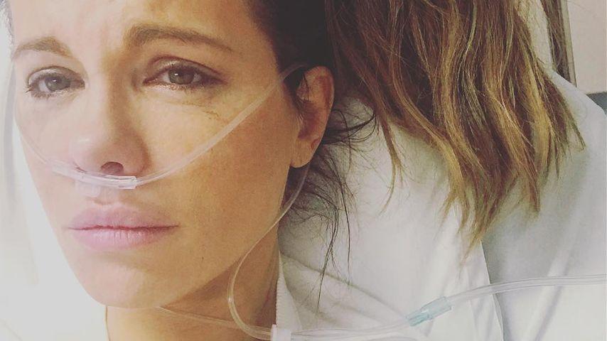 Kate Beckinsale wegen geplatzter Eierstock-Zyste in Klinik!