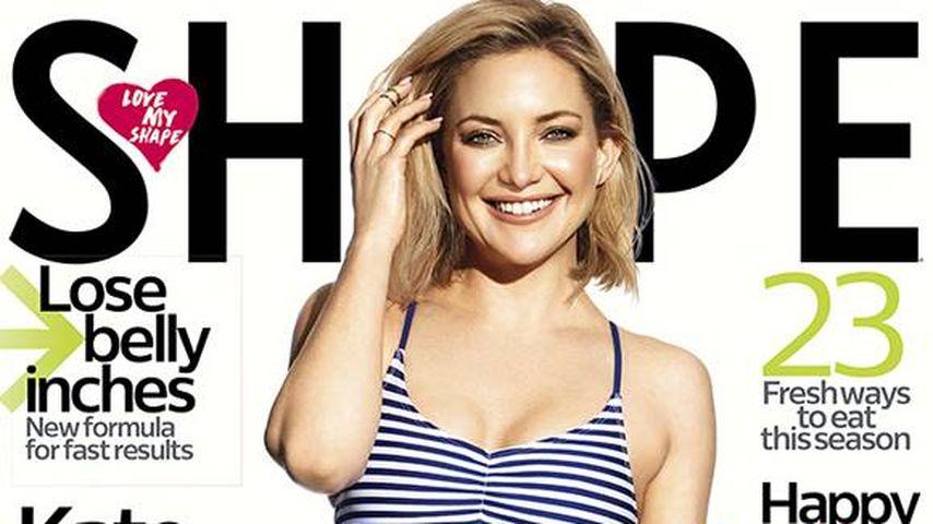 """Kate Hudson auf dem Cover der """"Shape"""""""