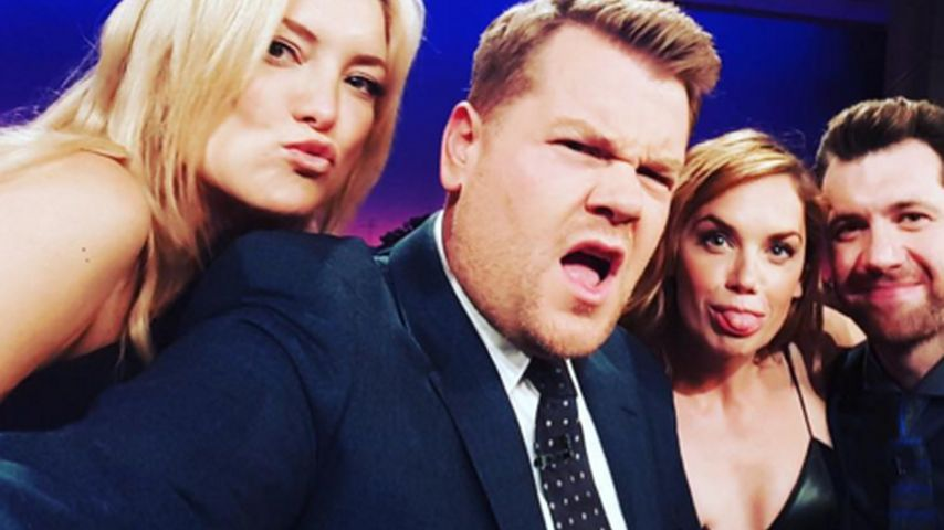 Kate Hudson, James Corden, Billy Eichner und Ruth Wilson