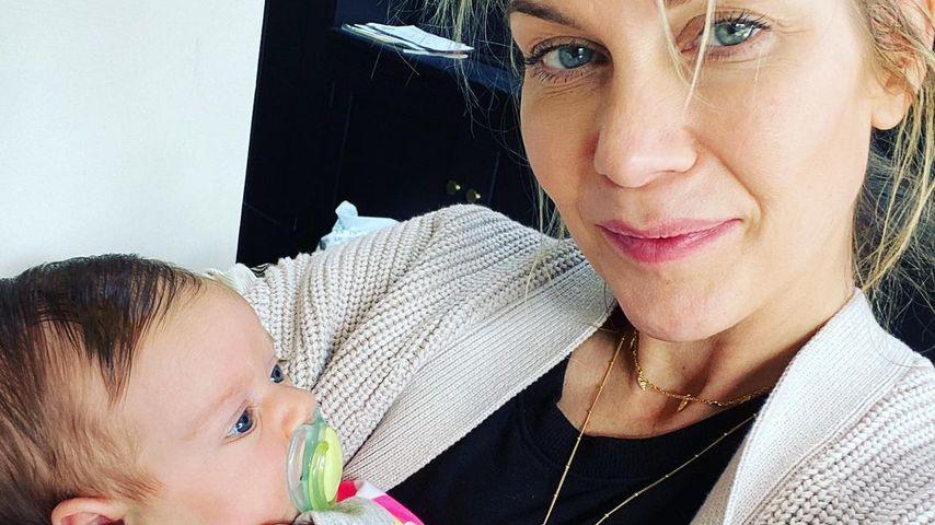 Kate Lawler und ihre Tochter Noa