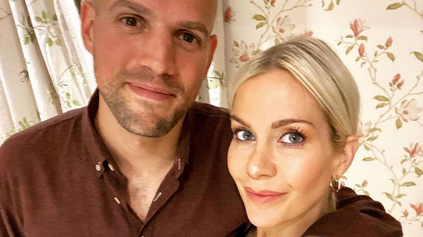 Kate Lawler mit ihrem Verlobten Martin