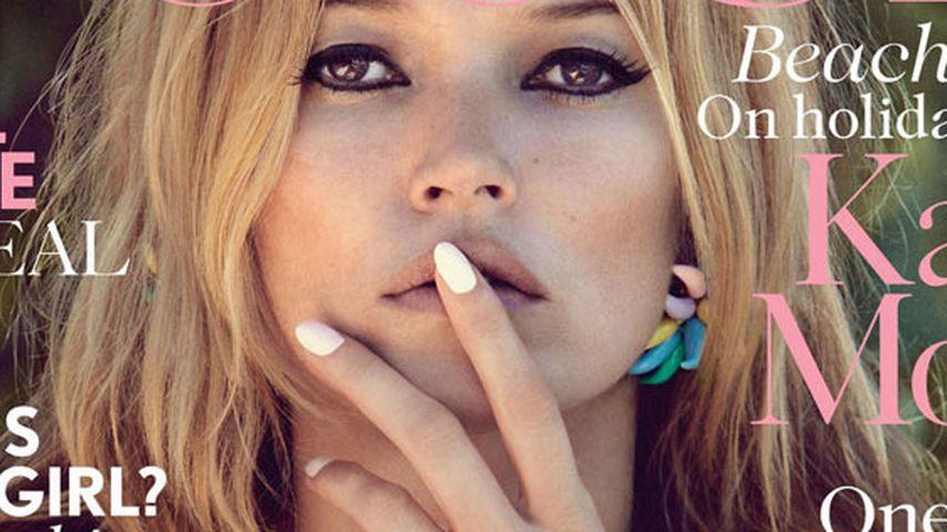 À la Bardot: Kate Moss als 60er Jahre Covergirl