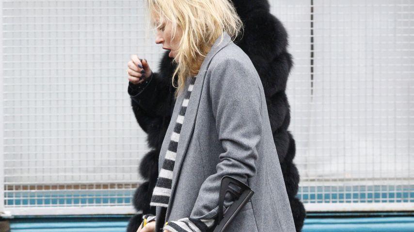 Kate Moss: Mit Krücken auf der Suche nach einem Liebes-Nest!