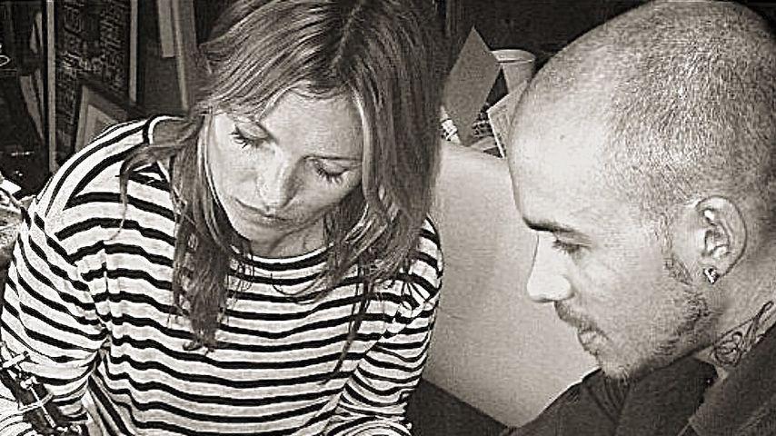 Kate Moss und Daniel Casone in London