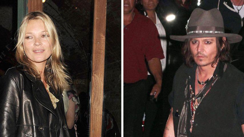 Kate Moss bedankt sich bei ihrem Ex Johnny Depp
