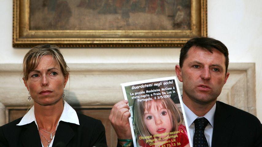 Kate und Gerry McCann, 2007