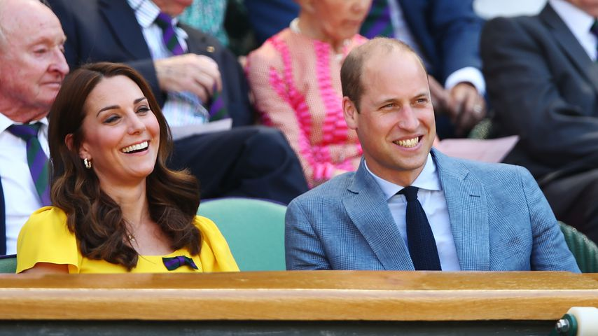 Herzogin Kate und Prinz William beim Wimbledon-Turnier 2018