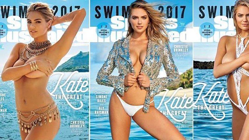 Lustig! Pannenserie bei Kate Uptons Bikini-Shooting