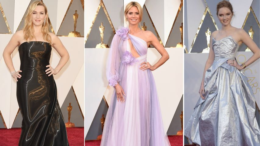 Mega-Glanz & BH-Fauxpas: Das sind die Oscar-Flop-Kleider!