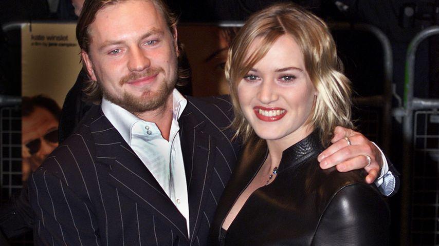 Kate Winslet und Jim Threapleton, London, 2000