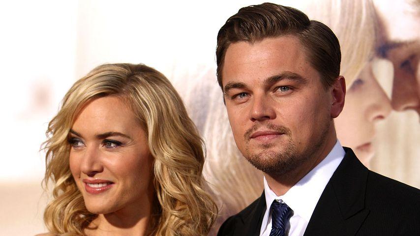 """Kate Winslet und Leonardo DiCaprio bei der Premiere von """"Revolutionary Road"""""""