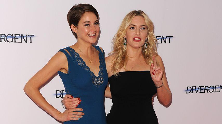 Kate Winslet und Shailene Woodley