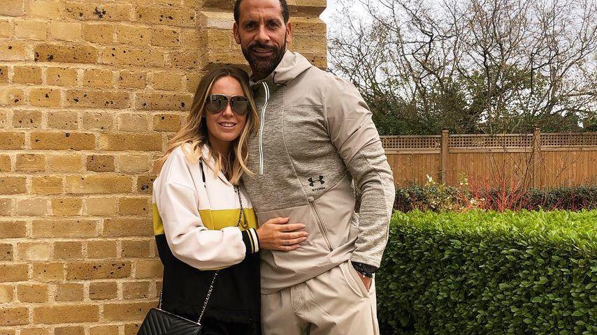 Kate Wright und ihr Verlobter Rio Ferdinand