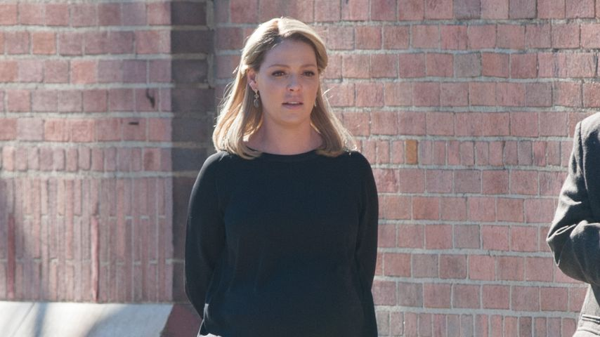 "Katherine Heigl bei den Dreharbeiten der TV-Serie ""Doubt"" in Los Angeles"