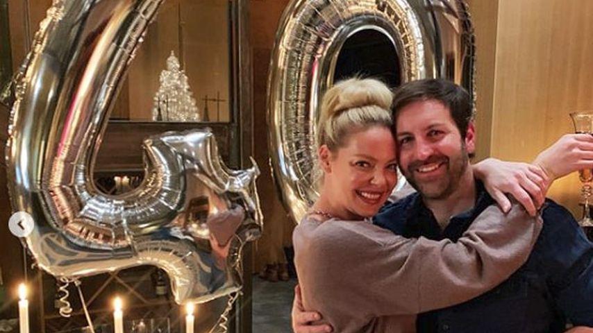 Katherine Heigl mit ihrem Ehemann Josh Kelley