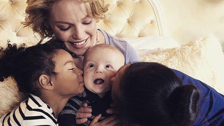 Katherine Heigl und ihre drei Kids