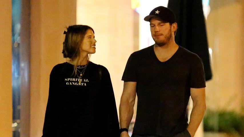 Chris Pratt und Katherine Schwarzenegger machen Liebe publik