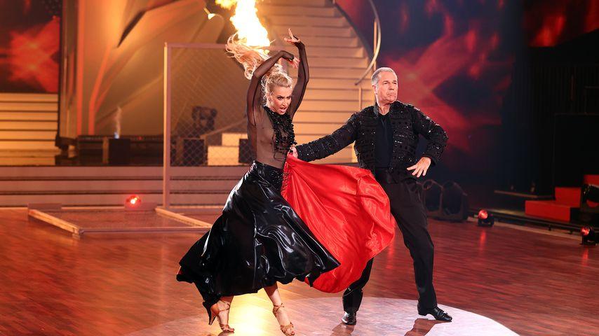 "Kathrin Menzinger und Kai Ebel bei ""Let's Dance"""