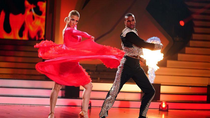 """Kathrin Menzinger und Tijan Njie im """"Let's Dance""""-Halbfinale"""