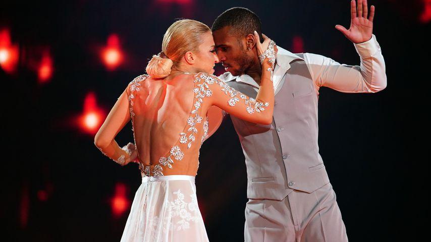 """Kathrin Menzinger und Tijan Njie im """"Let's Dance""""-Halbfinale 2020"""