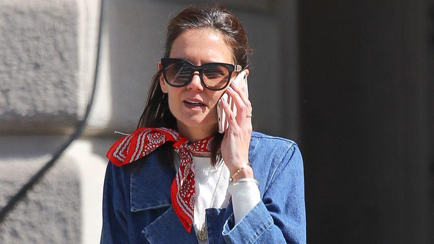 Katie Holmes in New York im März 2019
