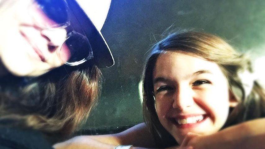So selten! Katie Holmes' & Suris intimer Mama-Tochter-Moment