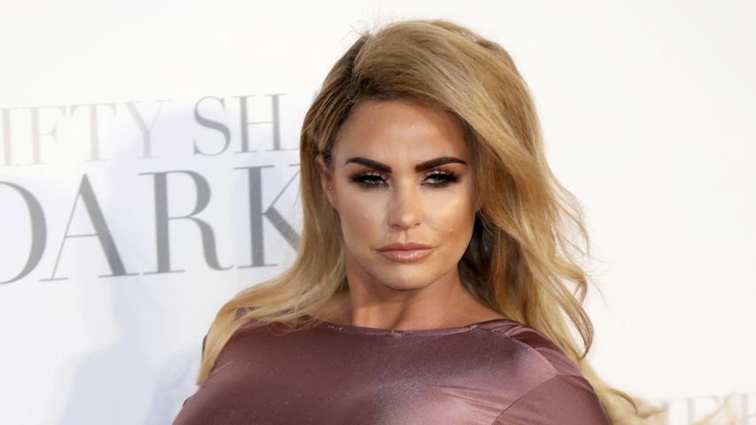 "Katie Price bei der Premiere von ""Fifty Shades Darker"" in London"