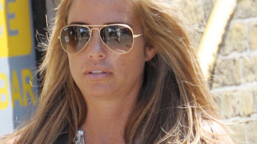 Bauch versteckt: Will Katie Price ihr Baby nicht?