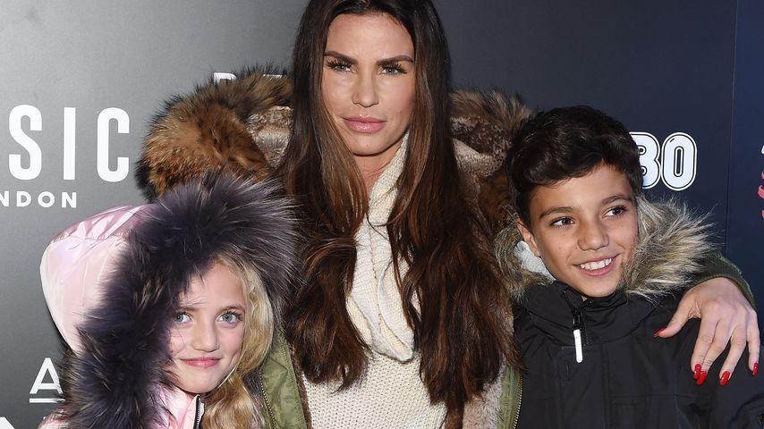 Katie Price' Kids: Princess & Junior wohnen jetzt beim Papa!