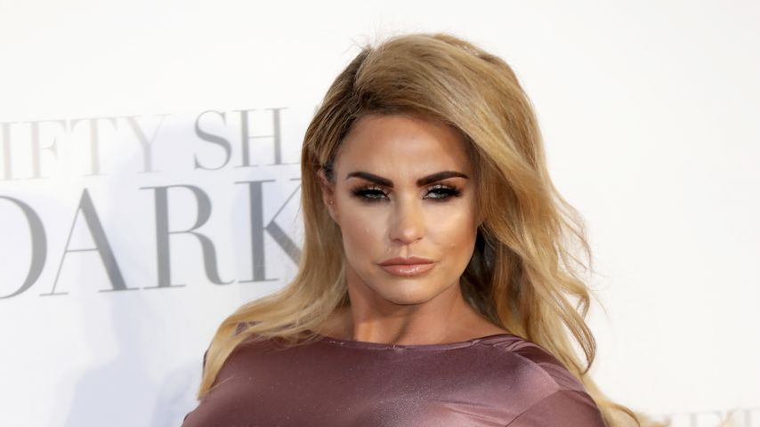 "Katie Price bei der Filmpremiere von ""50 Shades of Grey"" in London"