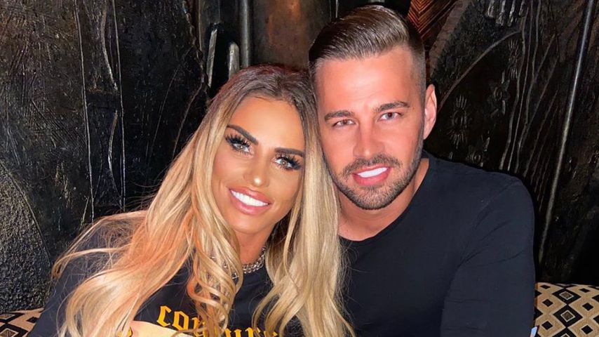 Katie Price und Carl Woods im September 2020